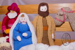 Knitivity or Knitted Nativity at St John The Baptist Church Dodworth (123) (PHH Sykes) Tags: church saint st john baptist knitted figures nativity the dodworth knitivity