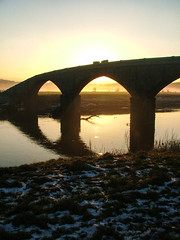 Hurst Green 05/12/2010 (Walks in Dreams) Tags: bridge sunset england river walking tranquil hurstgreen kevincjpoole