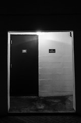 fire exit (JEO Photography) Tags: door blackandwhite fire exit virginiabeach