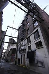 Vancouver Back Streets (jbilohaku) Tags: street canada vancouver calle alley bc britishcolumbia yvr canad callejn strato vankuvero britakolumbio kanado columbiabritnica