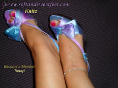 Pretty Blue Shoes and Pretty Toes Peeking Out (Kattz Foot Model) Tags: feet socks foot shoe sock shoes worship toes highheels arch photos sweet sandals bare domination polish arches heels wrinkles soles videos poses toenails trampling beautifulfeet stinkyfeet footworship sweetfeet longtoenails prettyfeet sexyfeet sexysandals thongsandals sexysoles wrinkledsoles footworshipping meatyfeet meatysoles