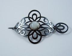 gracebourne/BAW/52/5 (Gracebourne) Tags: pin scrollwork victorian jewelry jewellery etsymetal baw52 broochaweek baw525