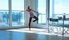 the bright side [22] (laura zalenga) Tags: life new blue light ballet woman sun window girl pose munich happy dance flat arm bright desk livingroom satisfied ©laurazalenga
