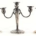 152A. Three Sterling Weighted Candlesticks