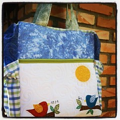 Baby Bag pra Bel passear com David ! (Joana Joaninha) Tags: brasil amor carinho patchwork bolsa joanajoaninha flickrandroidapp:filter=none