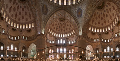 La Mosque bleue-Vue intrieure (xavier hamon) Tags: istanbul turquie vue panoramique mosque intrieure istanbullovers