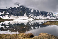 (J Schmetzer) Tags: vacation lake holiday mountains nature norway rock clouds alpine hdr lanscape vestlandet tonemapping