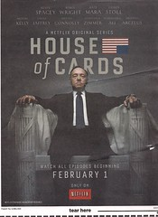 Netflix - House Of Cards Mailer Inside