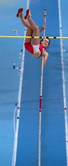 P2169058 (roel.ubels) Tags: athletics indoor omnisport apeldoorn nk longjump highjump atletiek 2013