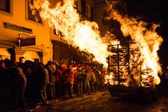 Flame on! (ALwinDigital) Tags: longexposure people urban festival fire switzerland lowlight nikon europe events flames performingarts festivals fireman firemen geography firefighter firefighters occupation liestal burningwood chienbse nikond800e liestalburningofthebrooms