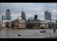 London's Ever Changing Skyline (peterphotographic) Tags: uk england building london thames modern britain southbank riverthames modernarchitecture walkietalkie g12 20fenchurchstreet 122leadenhallstreet canong12 cheesegraterbuilding img1625edwm