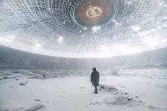 Snow verion of Buzludzha (inhiu) Tags: snow building hall nikon decay structure ceiling communist communism bulgaria d800 buzludzha 1monument inhiu