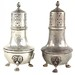 2097. Pair of Sterling Silver Salt & Pepper Shakers