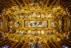 The Ceiling of the Paris Opera House (Stuck in Customs) Tags: world city travel november urban paris france art seine architecture digital french island photography design blog high opera europe theater ledefrance republic dynamic stuck state theatre district fineart capital performance ceiling historic photoblog software processing western imaging northern gilded region range metropolitan hdr tutorial trey travelblog 2012 customs revival neobaroque palaisgarnier rpubliquefranaise opragarnier opradeparis ratcliff placedelopra rgionparisienne parisopra hdrtutorial stuckincustoms acadmienationaledemusique treyratcliff photographyblog stuckincustomscom nikond800