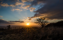 The Moment Before Darkness ~ Explored (intrazome) Tags: sunset wild england sun nature beautiful landscape outside outdoors nikon cornwall rays sunrays d5100