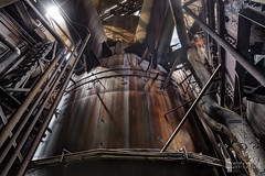 Behold, Goliathon (billmclaugh) Tags: mill abandoned industry photoshop canon rust iron industrial steel urbanexploration furnace hdr highdynamicrange blaster ue molten lightroom urbex 1635mm photomatix viveza promotecontrol 5dmiii