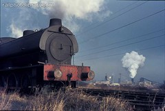 M001-04260.jpg (Colin Garratt) Tags: railroad chimney england english industry sign train mine industrial tank britain smoke engine railway british locomotive coal saddle coalmine colliery trackside ncb coaltrain uk1 no69 hunsletausterity lineside 060st blastpipe