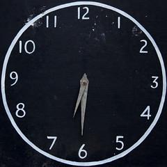 next train (Leo Reynolds) Tags: clock canon eos f45 7d squaredcircle 60mm iso160 hpexif 0011sec xleol30x sqset091 xxx2013xxx