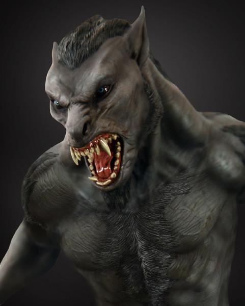 決戰異世界狼人雕像推薦