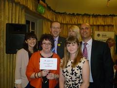 Kate Lynch, Mary Cowern, Llyr Huws Gruffydd AM, Debbie Pace, Jo Garzoni, Phil Groom (Jenny Francis1) Tags: pain cymru conference plaid partnership 2013 musculoskeletal