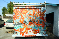 """Bleed Slow"" (MR. NIC GUY ^.^) Tags: california urban streetart art truck landscape graffiti losangeles los angeles rk agod kog neff scom anex dfied"