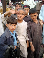 Boys in Local Market, Peshawar, Pakistan (tyamashink) Tags: pakistan