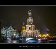 Dresden by Night - Hofkirche (MLechuga Photography) Tags: world life street new old city travel bridge blue trees light boy sunset red portrait sky people blackandwhite italy music orange usa sun mountain lake snow man black mountains flower macro tree green london castle art fall cars church nature colors girl rock architecture night clouds digital forest canon reflections germany landscape photography eos dresden is photo europe action bokeh sigma wideangle chrome 7d summertime usm dslr canoneos hdr kaiserslautern intheair catherdal rememberthatmomentlevel1