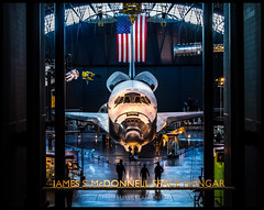 Space Shuttle Discovery - Steven F. Udvar-Hazy Center (Adam Hansen) Tags: vacation virginia washingtondc smithsonian dulles nasa discovery spaceshuttle airandspace omd