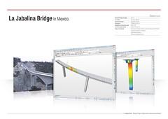 La Jabalina Bridge in Mexico (MIDAS IT) Tags: bridge project mexico la cable structure application civil pont dart stayed midas voute analysis poutre suspendu ouvrage analyse jabalina haubant structurelle