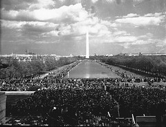 Marian Anderson Sings at Lincoln Memorial: 1939 # 3 (washington_area_spark) Tags: school black hall dc washington high concert memorial african district board dar central protest daughters jim columbia anderson civil american rights revolution lincoln crow constitution marian segregation