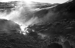 (zzkt) Tags: is f80 geothermal greyscale m9 krsuvk iso640 leicasummiluxm35mmf14asph secatf80