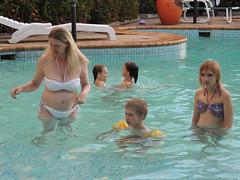Toni Maguire (y2j86) Tags: hot pool fat belly mature bikini milf