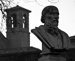 (FaBrYxX.) Tags: italy statue nikon italia central belltower campanile statua pesaro marche nikond3100