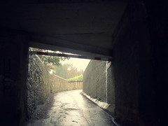 Under the bridge (turgidson) Tags: ireland dublin 3 cold wet weather lens four lumix prime flooding g bad picasa panasonic h micro pancake 20mm asph dmc thirds severe deluge killiney inclement f17 m43 primelens gh2 50club mirrorless lumixg p1120394 picasa3 microfourthirds 20mmf17 20mmf17asph panasonic20mmf17asph panasonicgh2 panasoniclumixdmcgh2