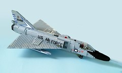 F-106 Delta Dart (1) (Mad physicist) Tags: fighter lego usaf f106 deltadart