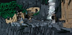 Undisclosed (✠Andreas) Tags: lego military scene jungle jungleruins legorocks thepurge legomilitary legocliff legowaterfall thepurgeeu