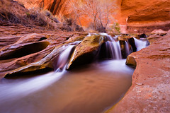 Carving (ashergrey) Tags: coyote county creek utah waterfall long exposure grand canyon glen national staircase area recreation kane escalante nra gulch