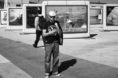 What You Looking At? (Nick Lambert!) Tags: sanfrancisco street blackandwhite bw fuji streetscape whatyoulookingat nicklambert fujix100 fujinonasphericallens