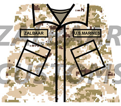 USMC MARPAT Shirt Decal WIP (zalbaar) Tags: usmc army us marine lego american corps camouflage decal customs marpat zalbaar