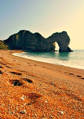 Durdle Door (Steve Major) Tags: seascape canon dorset beachscape durdledoor stevemajor flickraward platinumheartaward fleursetpaysages mygearandme