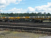 608269 Crewe Basford Hall 300612 (Dan86401) Tags: wagon flat container fl outer freight modal fsa freightliner 608 intermodal crewebasfordhall 4v64 608269