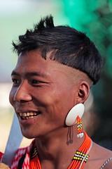 Pochury Tribe (DaJudge) Tags: india tribe nagaland hornbillfestival pochury