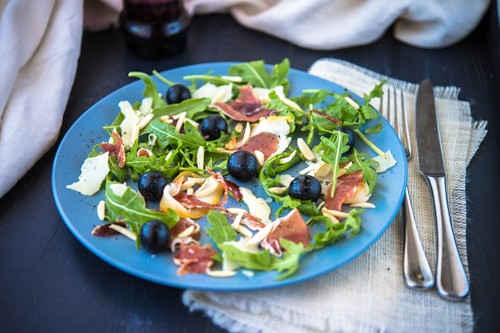 Prosciutto, Provolone, Grape, Rocket & A by AmazingAlmonds, on Flickr