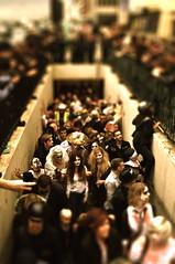 Subway Zombies (Jammy C) Tags: people men beach halloween monster underpass subway dead death costume scary blood women brighton dress zombie crowd apocalypse shift spooky brains gore fancy horror undead tilt herd act plague guts emerge horrific reanimation pretent