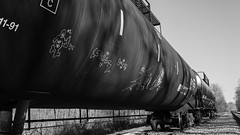 Railroad Art (This Car Excess Height) Tags: railroad art culture seven streaks freight deuce tanker lng markal monikers gatx shpx