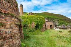 All in a row (Lee~Harris) Tags: porthwen outdoor architecture ruins abandoned kilns