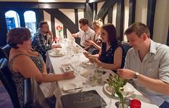 Christa, Zak, Simon, Cyan, Sky & Chris (Brett Jordan) Tags: brett brettjordan httpx1brettstuffblogspotcom sky skypuddy 30thbirthdaymeal friendsrestaurant pinner