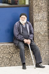 (email@allenreavie.photography) Tags: street portraiture man elderly