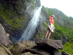 Hanakapi'ai Falls Adventurer (Jason Daniel Brown) Tags: hawaii kauai hanakapiaifalls kalalautrail hiking adventure stateparks travel waterfall waterfalls usa napalicoast napalicoaststatepark landscapes
