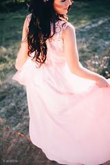 Pink sunset (DavydchukNikolay) Tags: pink sunset                   girl photoshoots love outdoor land forest emotions smile photographergoa goa